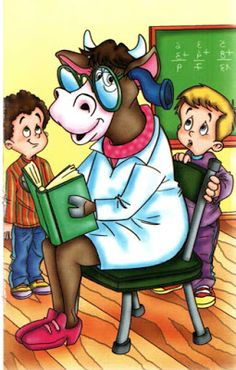 La Vaca Estudiosa - Lectura para Niños