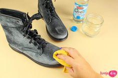 Jak wyczyścić buty z zamszu i nubuku? 9 domowych sposobów - Twoje DIY Cleaning Solutions, Home Hacks, Combat Boots, Diy And Crafts, Sneakers, Shoes, Tips, Fashion, Tennis