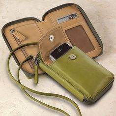 Marley Going Out Phone Case - Leather Phone Case - Levenger (I like this color)