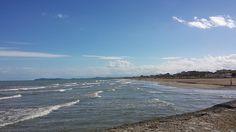 Rimini. Il mare in autunno