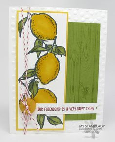 One of my favorite stamp sets from the 2015 Sale-A-Bration product choices. A Happy Thing stamp set. Earn FREE stamping product from Stampin' Up! right now. www.mystamplady.com