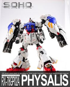 G-System 1/60 GP02 Gundam Physalis - Painted Build     Modeled by SOHO