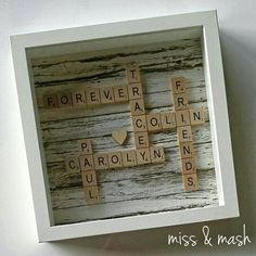 Image result for scrabble family names