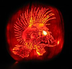 extreme pumpkin carving - Google Search