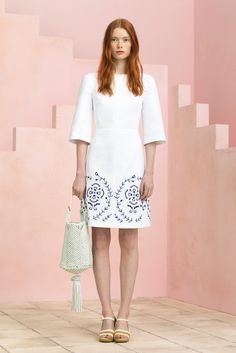 Tory Burch Resort 2015 Fashion Show - Julia Hafstrom
