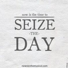 Seize the Day - News