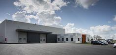 Bâtiment de production réalisé par L'Agence d'Architecture PVA