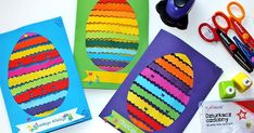 Crafts For Kids, Cards, Handmade, Diy, Decorations, Ideas, Eggs, Spring, Tejidos