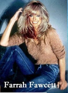 Farrah smiles in soft, well-worn jeans.Feathered hairstyles 2017 shag hairstyles,long bang styles bouffant maker,braid styles for girls short shag hairstyles.Protective Hair Style Ideas for Kinky hairstyle for men women hairstyles over 40 ov Ellen Von Unwerth, Farrah Fawcett, Shag Hairstyles, Feathered Hairstyles, Braid Styles For Girls, Corte Y Color, How To Style Bangs, Step By Step Hairstyles, Actrices Hollywood