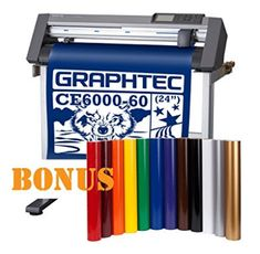 Graphtec Desktop Vinyl Cutter Plotter with Bonus 12 vinyl rolls in popular colors Honey Extractor, Best Honey, Popular Colors, Vinyl Cutter, Desktop, Rolls, Buns, Bread Rolls
