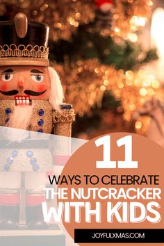 The Nutcracker is a magical story for the whole family. The ballet, which first premiered in 1892, has been enjoyed by generations of children and adults alike with its timeless classic music and dazzling sets. #christmas #nutcrackerballet #ballet
