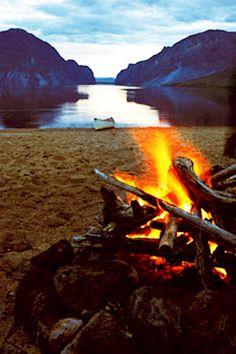 Canoe Camp    -         Little Doctor Lake, Northwest Territories, Canada