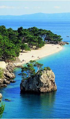 Punta Rata, Beach - Brela, Croatia