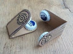 Handicrafts for children 23 fun DIY projects for this summer - DIY tools . - Handicrafts for children 23 fun DIY projects for this summer – DIY instruments Tinker chestnuts c - Easy Diys For Kids, Easy Diy Crafts, Diy Crafts For Kids, Fun Crafts, Kids Diy, Fun Diy, Recycled Crafts Kids, Simple Crafts, Rock Crafts