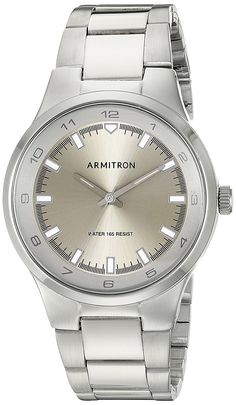 Armitron Men's 20/5082SVSV Silver-Tone Bracelet Watch * Continue to the watch at the image link.