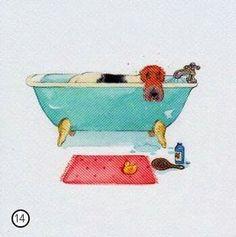 """Milkwood publishing """"Bathtime"""""""