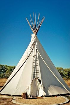 Guests can opt for tepees, trailers, or yurts at the El Cosmico hotel in Marfa, Texas.