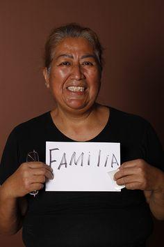 Familia, Martha Regalado, Comerciante, San Nicolás de los Garza, México.