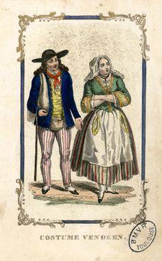Costume vendéen -Marcilly Ainé (Paris)-18..