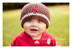 cute on a boy or girl. Huskers beanie
