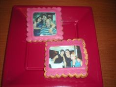 Galletas con foto comestible para regalar en el Día de la Madre!