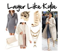 """""""Layer Like Kylie"""" by charlotterusse ❤ liked on Polyvore featuring Charlotte Russe, KylieJenner, CharlotteLook and WinterLayers"""