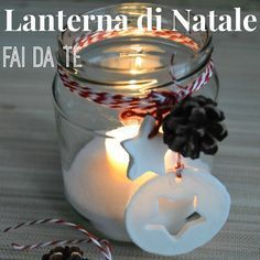 20 DIY lanterns ideas to decorate your home in a warm atmosphere! - Decoration - Tips and Crafts Christmas Poems, Christmas Time, Merry Christmas, Candle Jars, Candles, Christmas Crafts, Christmas Ornaments, Beautiful Christmas, Decorating Your Home