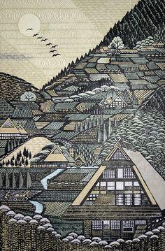 Ray Morimura, b.1948, Tokyo, Japan, Landscape.