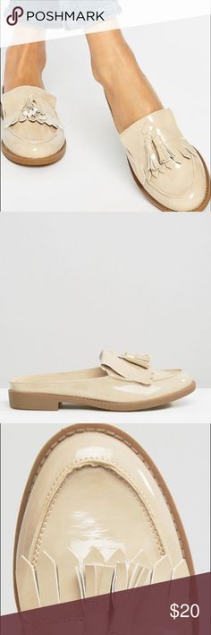 ASOS SLID LOAFER New look tassel loafer. Slightly worn. No box New Look Shoes Mules & Clogs
