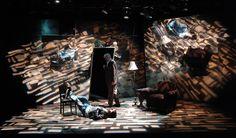 A Number. Everyman Theatre Company. Scenic design by Daniel Ettinger.