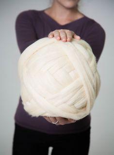 23 microns bras tricot laine fil Super par NataHomeandFashion