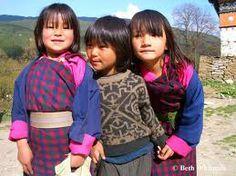 Girls in Bhutan