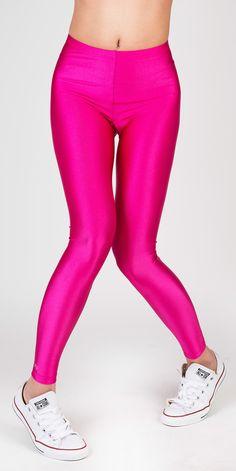 PCP Jaqueline - magenta shiny leggings