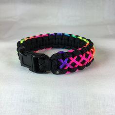 1PC Paracord Bracelet Wristband Maker DIY Braided Parachute Cord Weaving Too sp