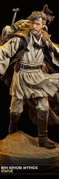 Such a beautiful statue. | Ben Kenobi Mythos Statue