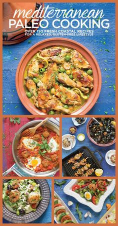 Mediterranean Paleo Cooking is a MUST HAVE cookbook for your Paleo kitchen.  The recipes are as beautiful as they are delicious. {Real Food Recipes, Paleo Recipes, Traditional Food Recipes, Primal Recipes, Mediterrarean Recipes}