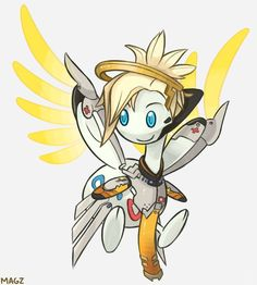 Tracer is a Pachirisu, Soldier is a Herdier, Widowmaker is a Purrloin, Genji is a Pawniard and Mercy is a Togetic! Overwatch Pokemon, Overwatch Funny Comic, Dreamworks Movies, Disney And Dreamworks, Pokemon Funny, Pokemon Go, Funny Comics, Art Blog, Dragon Ball Z