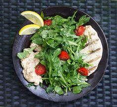 Chicken Paillard Italian Style • a very simple easy healthy dinner that everyone loves! • Panning The Globe