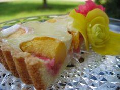 Mennonite Girls Can Cook: Peach Custard Tart