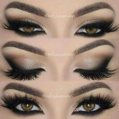 A beautiful smoky eye