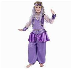 Buikdanseres kostuum voor meisjes #buikdanseres #buikdanserespak