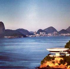 Paisagem cidade Niterói Rio de Janeiro, Brasil