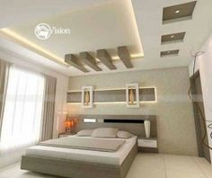 False ceiling designs in hyderabad - gypsum Fall Ceiling Designs Bedroom, Interior Ceiling Design, House Ceiling Design, Ceiling Design Living Room, Bedroom False Ceiling Design, False Ceiling Living Room, Bedroom Bed Design, Modern Bedroom Design, Living Room Designs