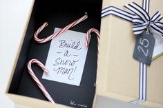 Easy Christmas Advent Box - such a fun idea!!
