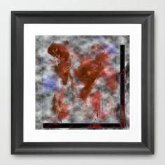 Music Girl Fantasy Framed Art Print by David Lee Graphic Artist - $40.00
