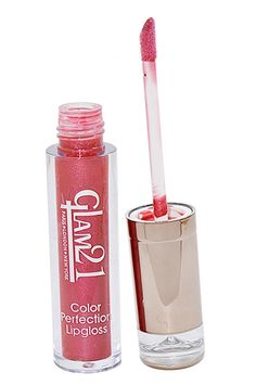 GLAM+21+COLOR+PERFECTION+LIP+GLOSS++With+Liner+&+Rubber+Band+-RHP-D3.+1+Lip+Gloss+::+1+Eye+&+Lip+Liner+::+1+Hair+Ruber+Band+::+ETC+Price+₹85.00