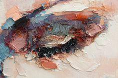 thomas donaldson, 5-23-15 study (detail), oil on canvas, 90x90cm on ArtStack #thomas-donaldson #art