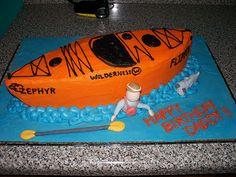 Canoe Birthday Cake