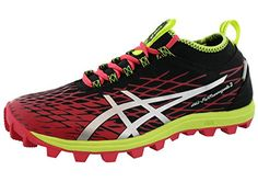 Asics Womens Gel Fuji Runnegade 2 Trail Running Rhoes 65 AzaelaSilverBlack ** More info could be found at the image url.(This is an Amazon affiliate link and I receive a commission for the sales)