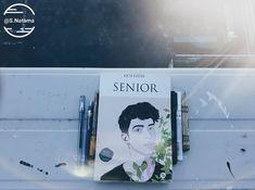 Manu Rios on Senior's Cover. Manu Rios, Boy, Senior, books, book
